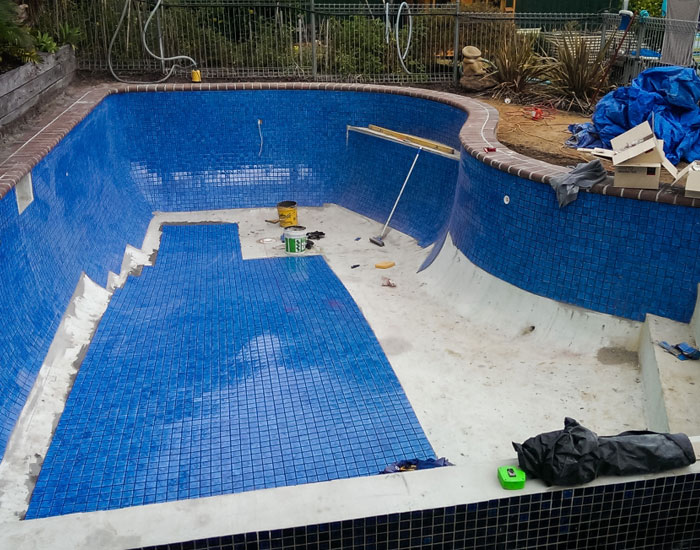 tiling the rendered pool
