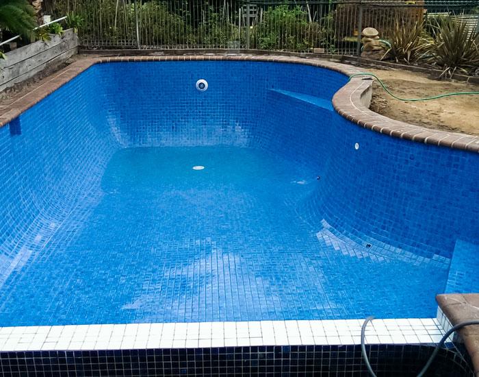 rendered pool now tiled pool