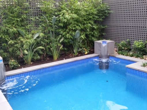 Waterline pool tiling – Melbourne